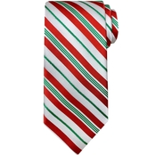 Hallmark Candy Cane Striped Tie