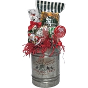 Naper Nuts & Sweets St. Nick's Popcorn and Candy Christmas Bucket