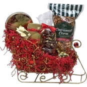 Naper Nuts & Sweets Ruby Gem Popcorn and Candy Ruby Sleigh