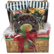 Naper Nuts & Sweets Christmas Popcorn and Candy Treasure Chest