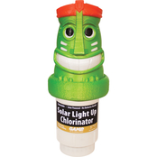 Game Light Up Tiki Solar Pool Chlorinator