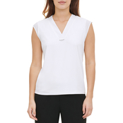 Calvin Klein V Neck Top