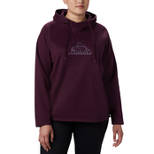 Columbia Plus Size Hart Mountain Graphic Hoodie