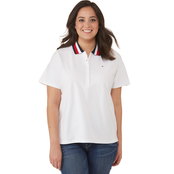 Tommy Hilfiger Plus Size Novelty Pique Polo Shirt