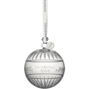 Waterford 3.7 in. Ogham Love Ball Ornament