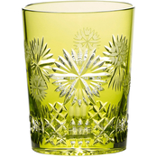 Waterford Snowflake Wishes Prosperity Prestige Edition Double Old Fashioned Glass