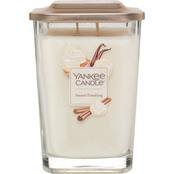 Yankee Candle Elevation Sweet Frosting Large 2 Wick Square Jar Candle