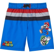 Nintendo Mario Swim Board Shorts