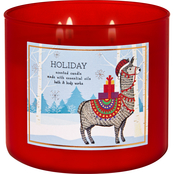 Bath & Body Works O What Fun Critter: Holiday 3 Wick Candle