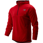 New Balance Tenacity Quarter Zip Jacket with Hood