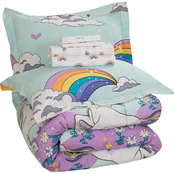 Magical Unicorn Twin Bed in Bag