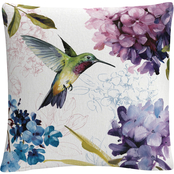 Trademark Fine Art Lisa Audit Spring Nectar Square II Decorative Throw Pillow