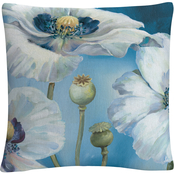 Trademark Fine Art Lisa Audit Blue Dance I Decorative Throw Pillow