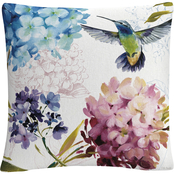 Trademark Fine Art Lisa Audit Spring Nectar Square III Decorative Throw Pillow