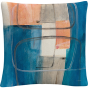 Trademark Fine Art Mike Schick Passage II v2 Decorative Throw Pillow