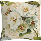 Trademark Fine Art Lisa Audit Les Jardin III Decorative Throw Pillow