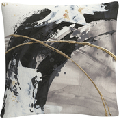 Trademark Fine Art Chris Paschke Gilded Arcs II Decorative Throw Pillow