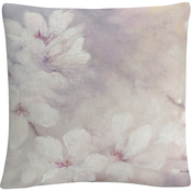 Trademark Fine Art Julia Purinton Cherry Blossoms Decorative Throw Pillow