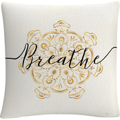 Trademark Fine Art Veronique Charron Namaste II Decorative Throw Pillow