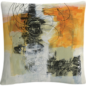 Trademark Fine Art Jane Davies Action II Decorative Throw Pillow