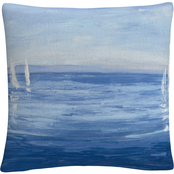 Trademark Fine Art Julia Purinton Open Sail Decorative Throw Pillow