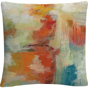 Trademark Fine Art Silvia Vassileva Coral Reef Decorative Throw Pillow