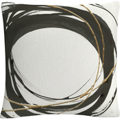 Trademark Fine Art Chris Paschke Gilded Enso III Decorative Throw Pillow