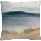 Trademark Fine Art Julia Purinton Indigo Isle Decorative Throw Pillow