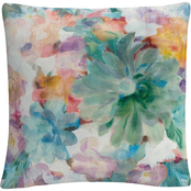 Trademark Fine Art Danhui Nai Succulent Florals Crop Decorative Throw Pillow