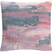 Trademark Fine Art Chris Paschke Whitewashed Blush II Decorative Throw Pillow