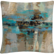 Trademark Fine Art Silvia Vassileva Morning Fjord Decorative Throw Pillow