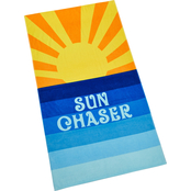 Martha Stewart Collection Sun Chaser Beach Towel