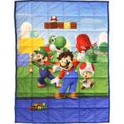 Nintendo Super Mario Level Up Weighted Blanket