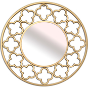 Simply Perfect Round Openwork Mirror 20 in.