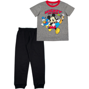 Mickey Mouse and Friends Toddler Boys 2 pc. French Terry Pants Set