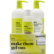DevaCurl Curly Make Them Gel-ous 4 pc. Kit