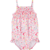Carter's Infant Girls Floral 1 pc. Swimsuit