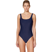 Nautica Logo Scoop Neck Mio Swimsuit