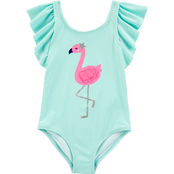 Carter's Toddler Girls Flamingo 1 pc. Swimsuit