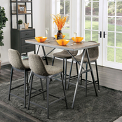 Furniture of America Brandt Counter Table 5 pc. Set
