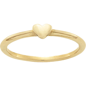 James Avery 14K Yellow Gold Pure Heart Ring