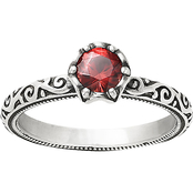 James Avery Cherished Birthstone Ring with Garnet