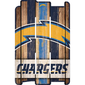 WinCraft NFL Football 11 x 17 in. Wooden Fence Team Sign