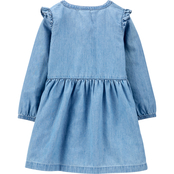 Carter's Toddler Girls Denim Shirt Dress