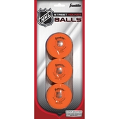 Franklin Sports NHL Hi Density Ball, 3 Pk.