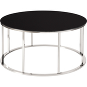 Signature Design by Ashley Clenco Round Cocktail Table