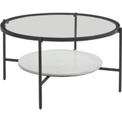 Signature Design by Ashley Zalany Round Cocktail Table