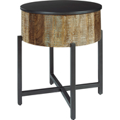 Signature Design by Ashley Nashbryn Round End Table