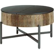 Signature Design by Ashley Nashbryn Round Cocktail Table