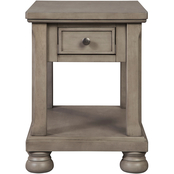 Signature Design by Ashley Lettner Rectangular End Table